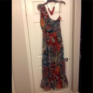 American Rag XL Floor Length Floral 🌺 Dress 👗